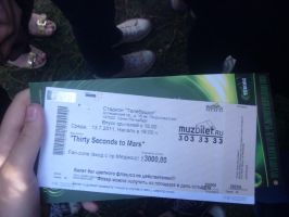 GreenFest Ticket by AritokoAfrica