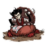 Don't Starve - good place to hide by Kaddson