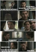 SPN-SNL Part 2 of 8 by fallen-stars