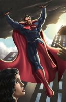 SUPERMAN by DAVID-OCAMPO