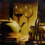 teapot of wine by incolorwetrust
