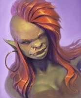 Rogue Portrait by Morfyia