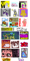 Jumpei Sticker collection by Jumpei