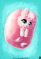 Fluffle Puff - OC and MLP FanArt by White-Wolf-Redgrave