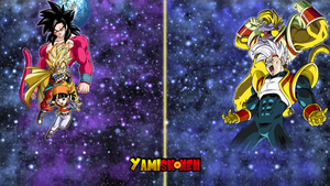 Dragon Ball Heroes Galaxy Mission 5 (Background) by yamishonen