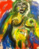 ode 2 abstract expressionism by Jareth-AladdinSane