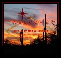 Sin City Art, Designz Ad by CreativeBlogDesignz
