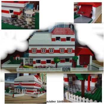 mini fig dream house by legochick08