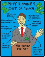 Mitt Romney Out of Touch by Half-Baked-Politics