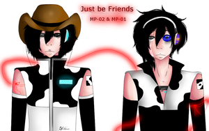 Just Be Friends: MP01 and MP02 by Po-Zu