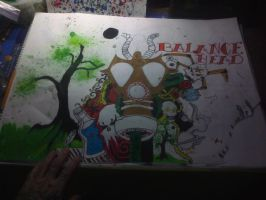 gasmask step two gioart23 by patchworkGio23