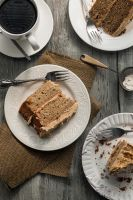 Banana Cake with Biscoff Buttercream by jezebel