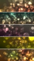 5 Bokeh Effect Backgrounds by ormanclark