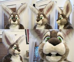 Ometochtli Fursuit Head by LobitaWorks