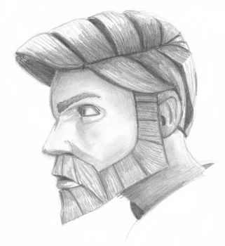 Obi-Wan in Profile by swfan444