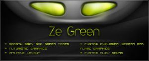 Ze Green OpenLX theme by m1r1