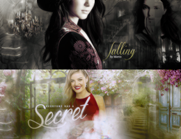 secret/falling signature by CyrusForeverr