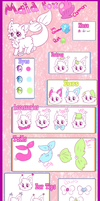 New Maid Fox species Guide! by BlushingEevee