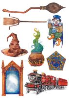 Harry Potter objects and spells (part 2) by Lily--Lu