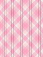 Pink Plaid Star Paper 2 by jakobie-coyote