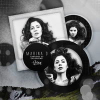Pack png 200 // Marina Diamandis. by ExoticPngs