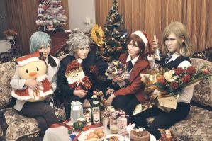 Merry X'mas! QUARTET NIGHT by Nazss