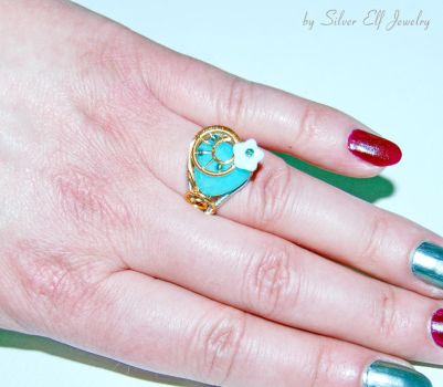 Winter to Spring ring by Lyriel-MoonShadow