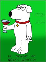 In Memory Of Brian Griffin by Megamink1997
