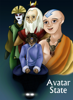 Avatar State: Cover by AniDragon