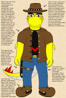 Yoshistar Reference - Ranger's Outfit by Yoshistar-Baxter