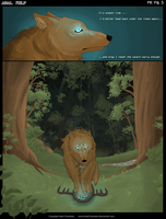 Adal Wolf Comic Prologue PG 3 by KateChambers