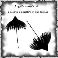 AngelMoon17- Gothic Umbrella by AngelMoon17