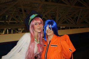 Otakuthon 2011 - Akito with Simca by Midnight-Dance-Angel