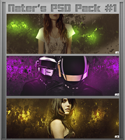 Nater's PSD MiniPack #1 (Clipping Masks) by Nater360