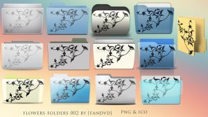 Flowers Folders 002 by fandvd