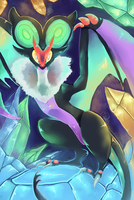 Noivern by Acidiic