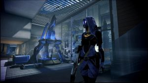Mass Effect 3 Tali in Bryson's Office  Dreamscene by droot1986