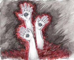 The Hands. by DhTier