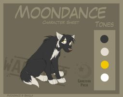 Moondance - Character Sheet re by Skailla