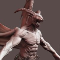 zbrush sss test by johnnugroho