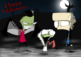 IZ_Happy Halloween...? by Natty354