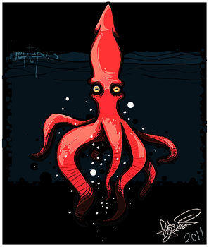 Heptapus not a Octopus by TheZakMan