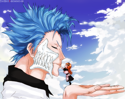 Grimmjow Orihime by FlairMatriX