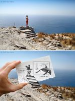 Behind the Scene - Pencil Vs Camera 36 by BenHeine