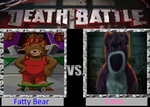 Fatty Bear vs. Lotso by cartoonfan22