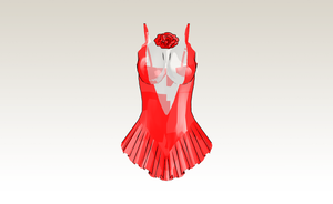 MMD ice skating dress by amiamy111