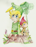 The Legend of Zelda : Minish Cap by ADistantDiamondSky