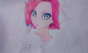 WIP - Paladins Maeve Fanart by Grimchease