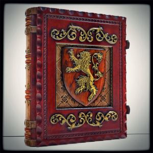 House Lannister journal by alexlibris999