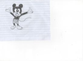 Micky mouse drawing by Sonic2125